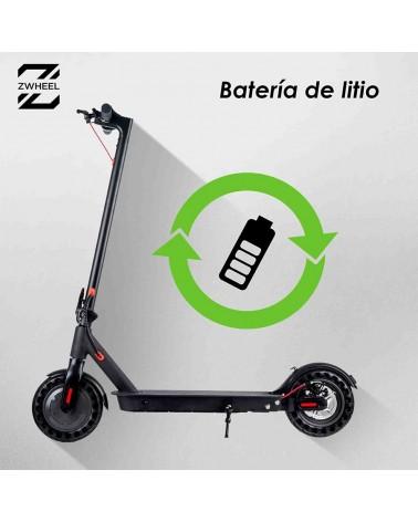 Patinete Eléctrico ZWheel E9 ZLion 8.5″ 350W con batería de litio