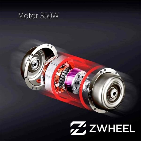 Más potencia del patinete Eléctrico ZWheel E9D ZLion X 8.5″ 350W